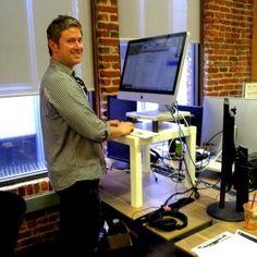 Ian's Ikea Standing Desk