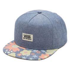 Vans Walmer Snapback Hat (Emery Floral Bill)