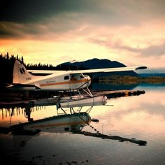 Float Plane, BC 8/2008 my husband and I flew goose in and beaver out of fishing lodge in B.C.