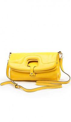 Fashion Korean candy colored leather handbag messenger bag 7006