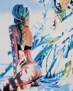 """Saatchi Art Artist Cindy Press; Painting, """"Unseen"""" #art:"""