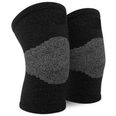 a73186a8f2 Elastic Knee Support Sleeves for Running, Jogging, Workout, Walking &  Recovery,