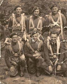 Men of the 22nd Independent Parachute Co, 1943.