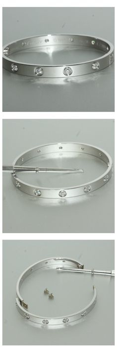 1bafacfc3 10 Diamond LOVE bangle. The Cartier Love bracelet was launched in 1969 and  was designed