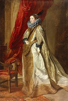 Historically Accurate Reference: 5. The Seventeenth Century: The lady is wearing an elongated u-shaped stomacher.
