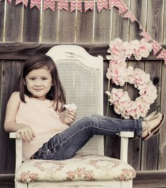 "Five Year Old Birthday Girl Photos - ""Blissfully Blessed"""
