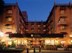 Fachada Hotel Geneve, Zona Rosa