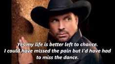 the dance garth brooks - YouTube