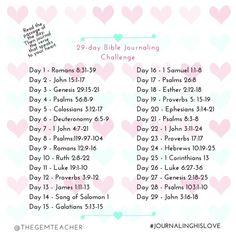 Feb Bible Journaling Challenge
