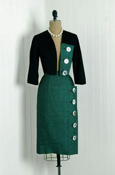 1950s career wear - suit