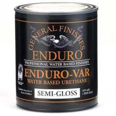 General Finishes Enduro-Var Urethane Varnish