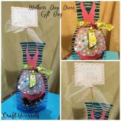"""Stand up gift bags """"gift ideas for all occasions"""" free printables - Craft"""