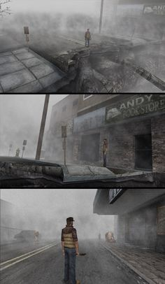 Silent Hill Origin - Wondering alone in his Memory/Nightmare (Not Sin), Unravel the Truth. Silent Hill Origins, Silent Hill Series, Silent Hill Game, The Evil Within, Dark Night, Low Poly, Resident Evil, Final Fantasy, Videogames