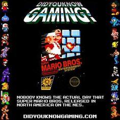 Did you know gaming? - Super Mario Bros. - Nintendo Entertainment System