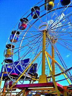 Ferris Wheel at the Atlanta Fair