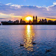 "wow.newyork: ""Sunset  Photo || @mitzgami  #nyc #newyork #wow_newyork"""