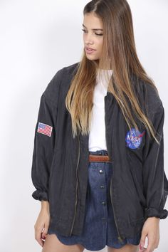 New arrivals : Nasa Gray Bomber