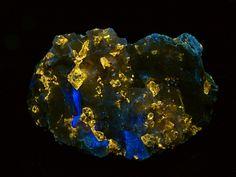 Colorado Zircon Fluorite -  UVabc
