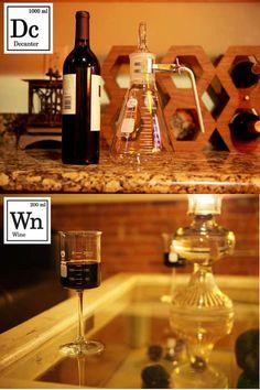 Laboratory Inspired Wine Set