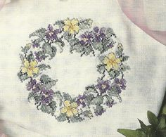 Leisure Arts Spring Finery Cross Stitch Booklet by carolinagirlz2, $4.50