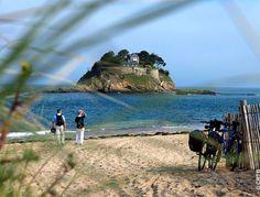 Plage de l'Anse Duguesclin, Cancale, Bretagne Saint Coulomb, Nature Beach, Voyage Europe, Mont Saint Michel, What A Wonderful World, Walking In Nature, Beach Landscape, Strand, Brittany