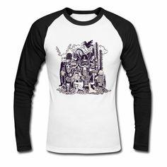 Hipster Tattoo, Metal Shirts, Hippie Style, Rockabilly, Hip Hop, Pullover Shirt, Rocker, Tees, Long Sleeve