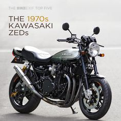 It's time for that 70s show. Bike EXIF's latest top 5 focuses on the Kawasaki muscle bikes of the 1970s—the Z1 and Z1000. Hit the link to check out some very tasty café racers—and builders on a quest for even more explosive performance. http://www.bikeexif.com/top-5-kawasaki-z1-z1000