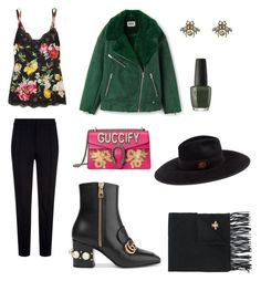 """""""Mossy vibes"""" by jarakuza on Polyvore featuring Gucci, Escada Sport and Dolce&Gabbana"""