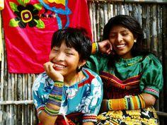 Cuna Indian Girls from Panama