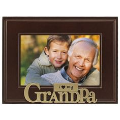 You'll love the I Heart My Grandpa Picture Frame at Wayfair - Great Deals on all Décor  products with Free Shipping on most stuff, even the big stuff.