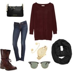 """""""Casual fall"""" by tawnisue on Polyvore"""