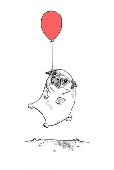 "Check out our web site for even more details on ""pug puppies"". It is an excellen… Check out our web site for even more details on ""pug puppies"". It is an excellent place to read more. Mops Tattoo, Pug Cartoon, Black Pug Puppies, Pug Art, Dibujos Cute, Art Graphique, Pug Love, Cute Animals, Sketches"