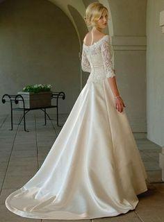 Imágenes de Vestidos de novia con mangas
