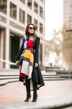 Oversized Scarf #cozy #look #blogger #fashion #outfit #scarf #warm #style #ootd