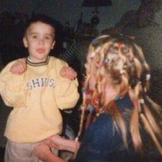 Justin Bieber and Pattie Mallette throwback photo!