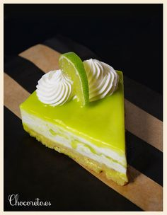 Coconut and Lime Cheesecake