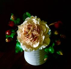 A personal favorite from my Etsy shop https://www.etsy.com/listing/238474737/david-austin-sugar-rose-wedding-cake