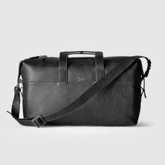 The Leather Weekender