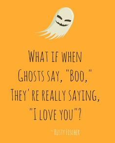 "I love ""Boo"" too... A Halloween poem"