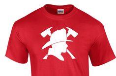 FIREMAN Tee Shirt great as a gift for Men, women, and children!! tee213