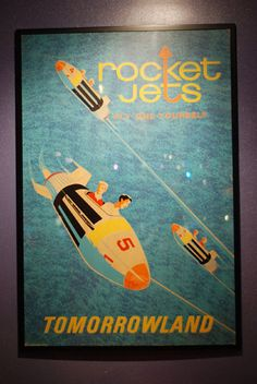 "Rocket Jets +like the old school aspect of this and ""tomorrowland"" with  preparing students for their future."