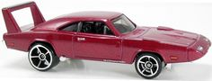 Hot Wheels 69 Dodge Charger Daytona Fast and Furious