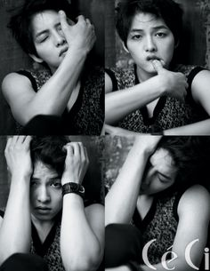 Song Joong Ki....he is following in a close second