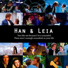 Han and Leia, vintage otp