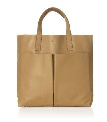 ANYA HINDMARCH Nevis Raw Leather Shopper