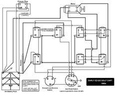 Electric EZGO golf cart wiring diagrams | Golf Cart | Golf ...