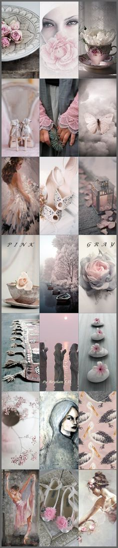 ' Pink & Gray '' by Reyhan S.D.