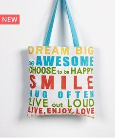 SMILE 19 ΤΣΑΝΤΑ ΩΜΟΥ Happy Smile, Dream Big, Hug, Reusable Tote Bags, House Design, Architecture Design, House Plans, Home Design, Cuddle