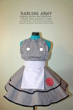 Alphonse Elric - Fullmetal Alchemist - Cosplay Pinafore by DarlingArmy.deviantart.com on @deviantART