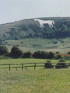 Westbury white horse this earth statue is older than stone